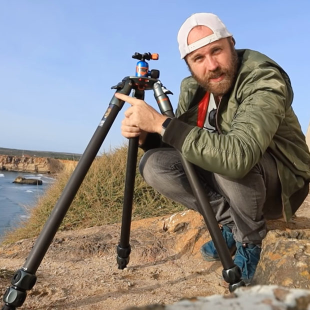 """""""Massive and awesome"""" Brendan van Son Tries Our Tommy Tripod"""