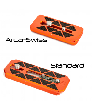 Additional plate options for AirHed Cine